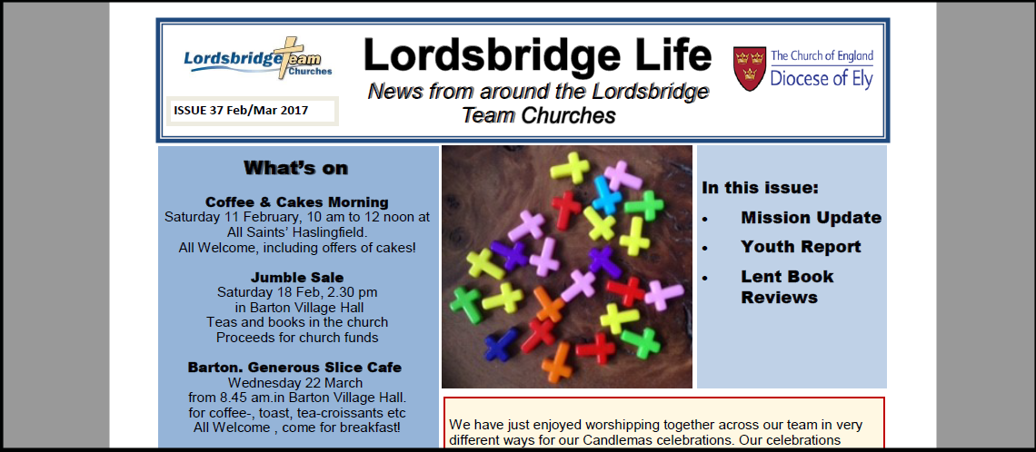 Lordsbridge Life - Feb 2017
